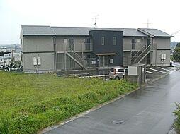 福岡県古賀市美明1丁目の賃貸アパートの外観
