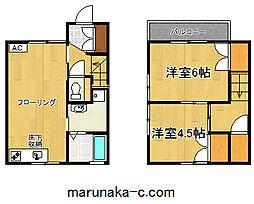 [テラスハウス] 神奈川県相模原市南区麻溝台1丁目 の賃貸【/】の間取り