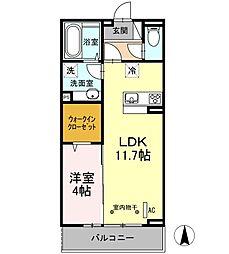 LSY45[303号室]の間取り
