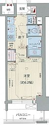 プレサンス鶴舞公園WEST[7階]の間取り