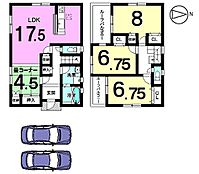 全室南向きで陽当たり重視のお客様にもきっとご満足頂ける物件です。LDK和室で22帖の広々空間になりました。