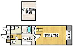 ガーデン・テラス・マス[2階]の間取り
