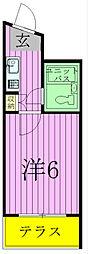 ジュネパレス新松戸第12[1階]の間取り