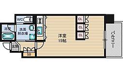 ベリーモンテ新大阪[11階]の間取り