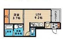 (仮称)西淀川区歌島一丁目・SKHコーポ[301号室号室]の間取り