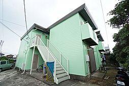 千葉県市原市八幡石塚2丁目の賃貸アパートの外観