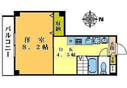 オアシスコート・M[303号室]の間取り