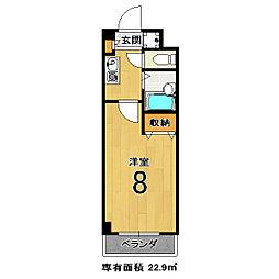 エクシードII[105号室]の間取り