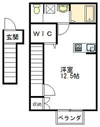 ラフォレスタ[2階]の間取り