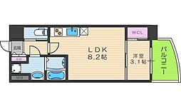 SERENiTE福島scelto[10階]の間取り