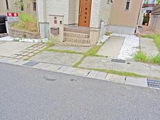 駐車スペース、ワンボックス駐車可能