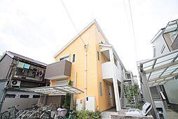 大阪府東大阪市森河内東1丁目の賃貸アパートの外観