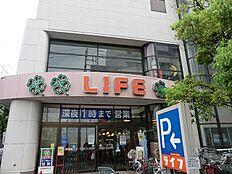 ライフ深川猿江店(約220m3分)