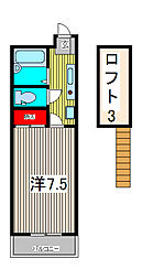 メインシティガーデン 弐番館[1階]の間取り