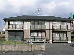 グリーンビレッジ湯川IIB棟[2階]の外観