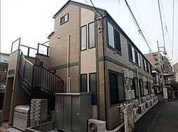 東京都新宿区高田馬場1丁目の賃貸アパートの外観