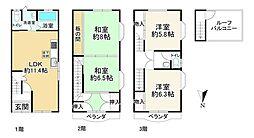 桃谷駅 2,180万円