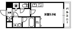 グレンパーク新大阪II[4階]の間取り