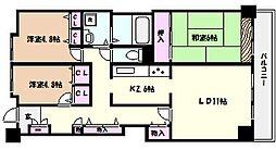 ラポルテ東館[7階]の間取り