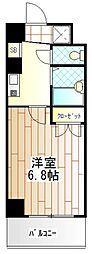 メゾンナツウメ[3階]の間取り