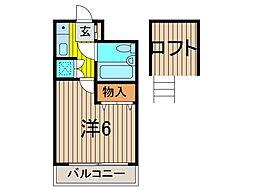 AQUA COAST 26[3階]の間取り