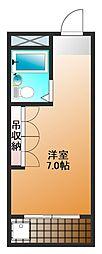 Farrangu江古田[3階]の間取り