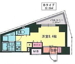 MY桜木町[402号室号室]の間取り