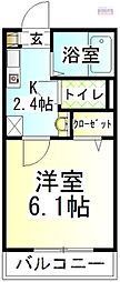 Wing湘南[旭化成ヘーベルメゾン][206号室]の間取り