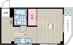 6837−ベルツリー[301号室]の間取り