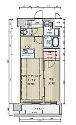 (仮称)ベラジオ京都一乗寺[4階]の間取り