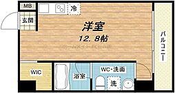 アドバンス心斎橋NEXTURE[4階]の間取り