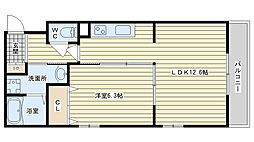 la maison felicia ラ・メゾン・フェリシア[306A号室]の間取り