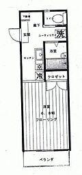 セリーヌ大口[2階]の間取り