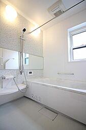 浴室には乾燥機...