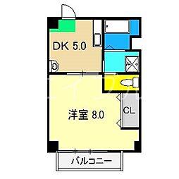 マルイマンション[2階]の間取り