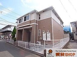 千葉県船橋市薬円台1丁目の賃貸アパートの外観