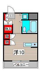 ウィンベルソロ与野第4[2階]の間取り