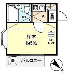 グロブナーハウス[2階]の間取り