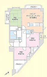 モリスすずかけ台3階 すずかけ台駅歩2分 204号室
