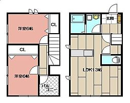 P-HOUSE[105号室]の間取り