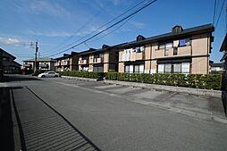 福岡県久留米市野伏間1丁目の賃貸アパートの外観