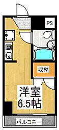 GMハウス[3階]の間取り