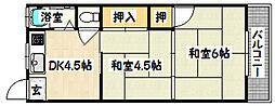 兵庫県神戸市長田区長田天神町4丁目の賃貸マンションの間取り