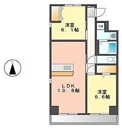 寿庵(JUAN)[2階]の間取り