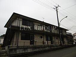 東京都八王子市元八王子町3丁目の賃貸アパートの外観