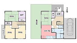 [一戸建] 福岡県福岡市西区生の松原2丁目 の賃貸【/】の間取り