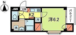 ニューキャスル高円寺南[1階]の間取り