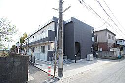 神奈川県大和市上草柳4丁目の賃貸アパートの外観