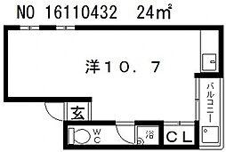 伊藤マンション[2階]の間取り