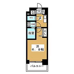 プレサンス栄ブリオ[10階]の間取り